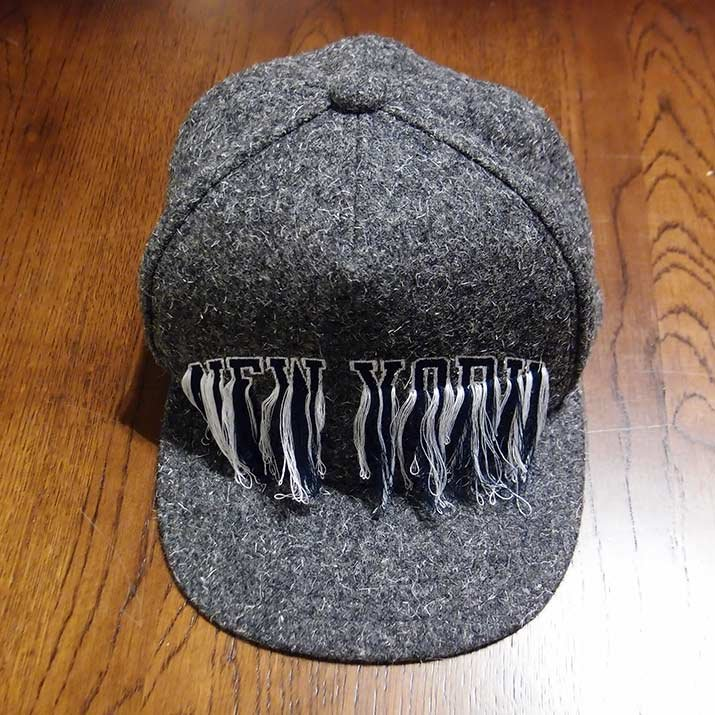 Doublet ダブレット EMBROIDERY CAP