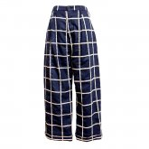 【40%off】TaaKK ターク Embroidery check Pants 刺繍チェックパンツ
