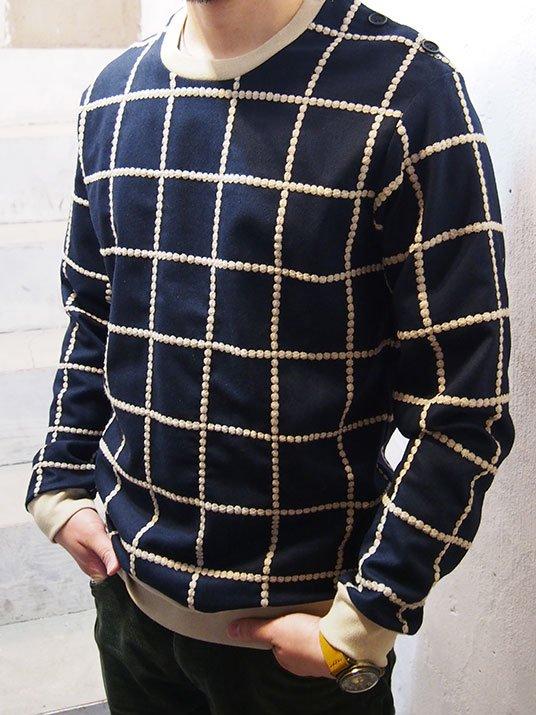 TaaKK ターク Embroidery check Pullovers 刺繍チェックプルオーバー