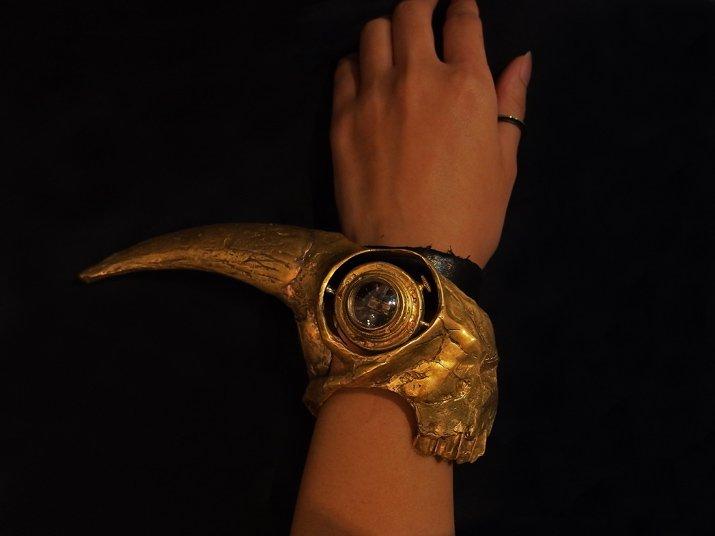 """ゴシックラボラトリー×マンタム コラボレーション腕時計 """"バフォメット"""""""