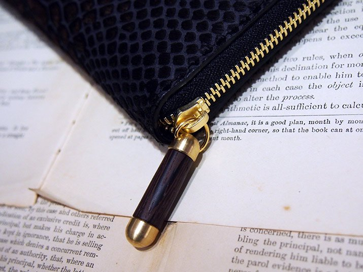 Ense アンサ ハラコ zipper wallet シッパーウォレット