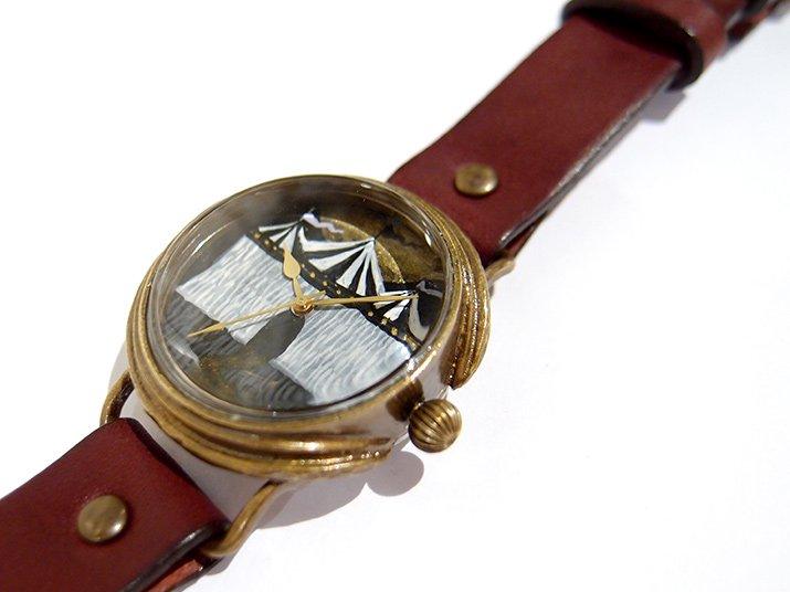 GIFT展 手作り腕時計 佐久間友香 「 サーカスのテント 」