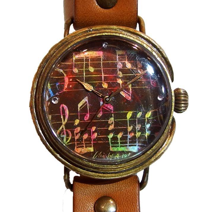 GIFT展 手作り腕時計 Chiaki Akada 「Set on Notes」
