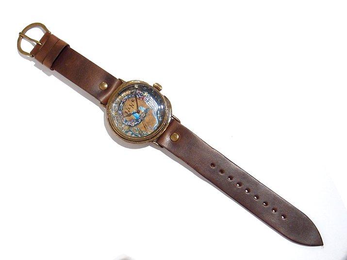 GIFT展 手作り腕時計 三鼓梨菜 「 NINE 」