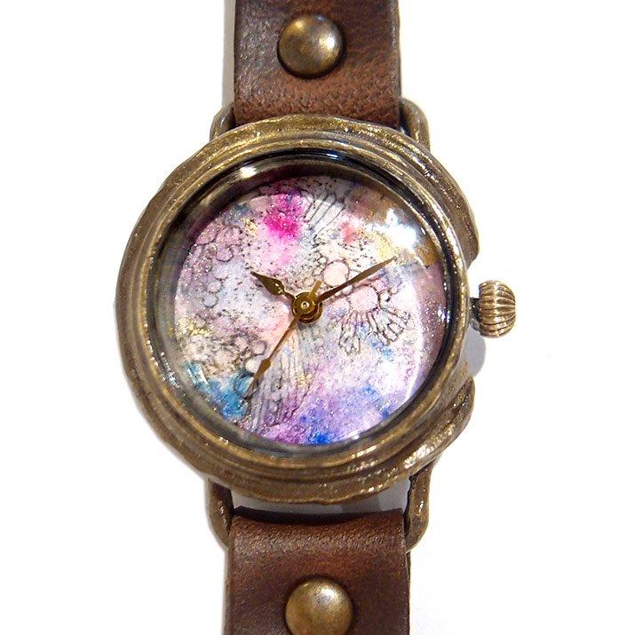 GIFT展 手作り腕時計 いしかわゆか 「 Tiny Secret Garden 」