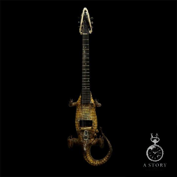 Mantam マンタム クロコダイルギター Wanio