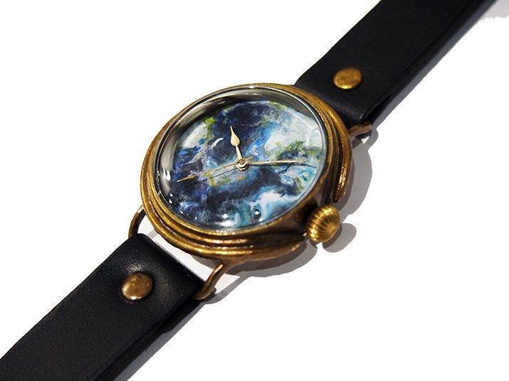 GIFT展 手作り腕時計 三鼓梨菜 「 EARTH �」