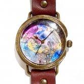 GIFT展 手作り腕時計 いしかわゆか 「 Secret Garden2」 M-size 28mm