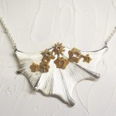 cocoon コクーン fin Neckrace フィンネックレス SV/BR