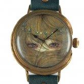 クロノキャンバス アート腕時計「ひとみ」佐久間 友香 Yuka Sakuma×A STORY TOKYO LL 37mm