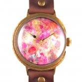 クロノキャンバス アート腕時計「Eternal Flowers」いしかわゆか×A STORY TOKYO LL 37mm