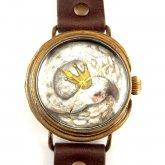 クロノキャンバス アート腕時計「スワン」佐久間 友香 Yuka Sakumau×A STORY TOKYO L-33mm
