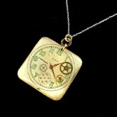 Tomoko Tokuda Steampunk necklace スチームパンクミニネックレス no.6157