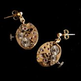 Tomoko Tokuda Steampunk mini earring F no.6349 スチームパンク ピアス(両耳)
