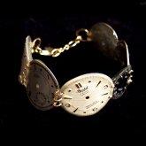 Tomoko Tokuda Steampunk bracelet スチームパンクブレスレット062 No.6355