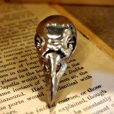 烏堂 烏頭蓋の指輪 silver925 ロジウムメッキ