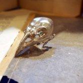 【受注】烏堂 烏頭蓋の指輪 silver925マット