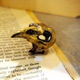 【ラスト1点】烏堂 烏頭蓋の指輪 真鍮