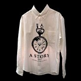 A STORYオリジナルシャツ 時計ロゴ