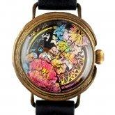クロノキャンバス アート腕時計「星になるまで」Chiaki Akada×A STORY TOKYO L 33mm
