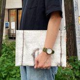 【ラスト1点】カガリユウスケ ドキュメントケース  クラッチバッグ 都市型迷彩