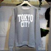 A STORYオリジナル  TOKYO CITY SWEAT トーキョーシティー トレーナー GRAY