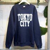 A STORYオリジナル  TOKYO CITY SWEAT トーキョーシティー トレーナー NAVY