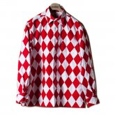 【50%OFF】REVERBERATE リバーバレイト 15-AW-Clown Shirts Red