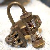 電氣エンドルフィン スチームパンク 二重螺旋リング