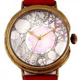 アート文字盤 手作り腕時計 いしかわゆか
