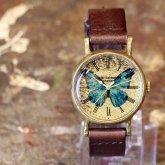 世界一美しい蝶 モルフォ蝶の腕時計 Classic Wristwatch Morpho