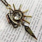 電氣エンドルフィン  Wheel of Fortune  ネックレス 1478