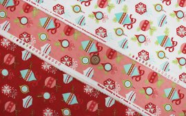 Vintage Holiday Flannel-55160(D-01)
