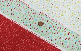 Vintage Holiday Flannel-55163(D-01)