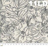 Moody Bloom-8447-11LD(リネン生地)(A-01)