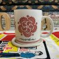 モダホーム マグカップ-FrenchGeneralペイズリー柄-(moda home-cup-02)
