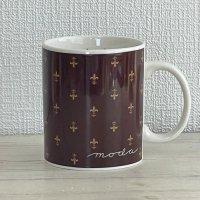 マグカップ - エンブレム柄(moda home-cup-04)