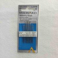 ミルワード 縫い針 No.5-10 16本入り(milward-5-10)