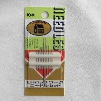 金亀糸業 LHパッチワークニードルセット 10本入り(kinkame-assort-7-10-2)