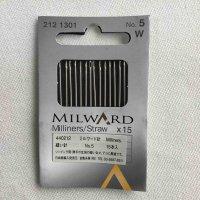 ミルワード 縫い針 15本入り(milward-212n)
