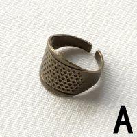 アンティーク調 シンブルシリーズ 指ぬき 3種類 (kinkame-LH-Y)