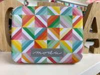 Quilt Box Tin No.17(BOX缶 約9.5*7.5 *2cm)
