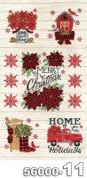 Home Sweet Holidays-パネル(1P 約 58cm)-56000-11(A-03)