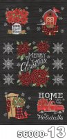 Home Sweet Holidays-パネル(1P 約 58cm)-56000-13(A-03)