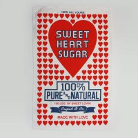 〈linens Sweet Heart Sugar〉リネンズ スイートハートシュガー キッチンクロス