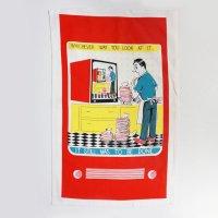 〈linens Tea Towel Helping Hand 〉リネンズ ティータオル ヘルピング ハンド キッチンクロス
