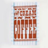 〈Cream ln My Coffee〉 キッチンクロス