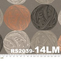 Purl-RS2039-14LM(リネン生地)(メタリック加工)(A-07)