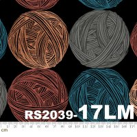 Purl-RS2039-17LM(リネン生地)(メタリック加工)(A-07)