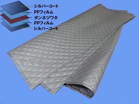【お試し価格】業務用薄手ソフト5層シングル 保温保冷シート 防音遮音養生等にも 110x200cm